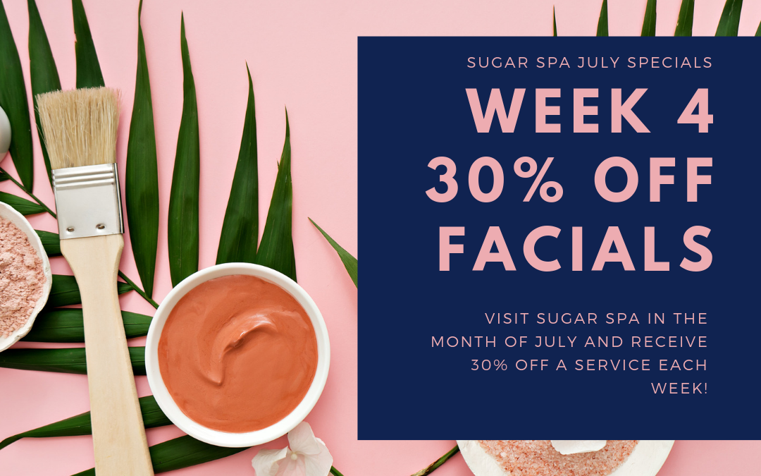 Sugar Spa | July 30% off series