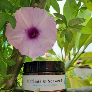 Moringa &Seaweed Facial Scrub
